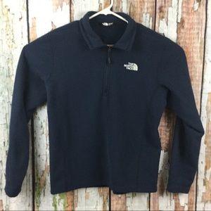 The North Face 1/4 ZIP Fleece Pullover Medium